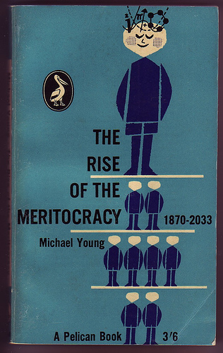 the myth that college is meritocracy